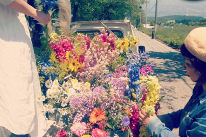 トラック花