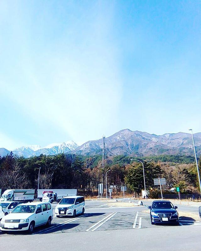 駒ケ岳いい天気!