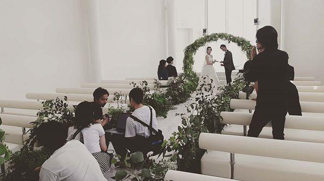 チャペル撮影スタイリングしてきましたー・。.オリジナルウエディングはお任せください。 #ラブーシュカウエディング#コンセプトウエディング#プレ花嫁#wedding#weddingdress#bride#結婚式#オリジナルウエディング#会場装飾#手作りアイテム#ウェディング#結婚式準備#花嫁#和婚 #ウエディングドレス#ウェディングドレス#軽井沢 #群馬 #日本中のプレ花嫁さんと繋がりたい#日本中の卒花嫁さんと繋がりたい#ゼクシィ#loveshka #loveshka_wedding